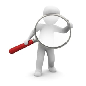 magnifying glass, search, to find